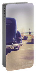 Portable Battery Charger featuring the photograph Beach Memories by Edward Fielding