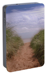 Portable Battery Charger featuring the photograph Beach Memories by Heidi Hermes