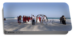 Beach Panoramic Wedding  Portable Battery Charger