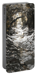 Beach Park Storm Drain Portable Battery Charger by Steve Sperry