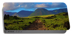Portable Battery Charger featuring the photograph Beach Road Kalaupapa by Craig Wood
