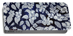 Beach Rose Pattern Portable Battery Charger