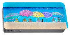 Beach Sands Perfect Tans Portable Battery Charger
