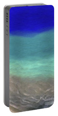 Beach Scene 7- Panel 2 Portable Battery Charger