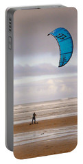 Beach Surfer Portable Battery Charger by Wendy McKennon