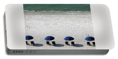 Portable Battery Charger featuring the photograph Beach Therapy 2 by Marie Hicks