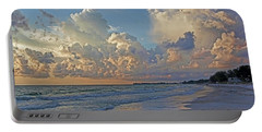 Beach Walk Portable Battery Charger by HH Photography of Florida