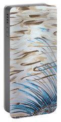 Portable Battery Charger featuring the painting Beach Winds by Steven Macanka