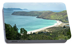 Portable Battery Charger featuring the photograph Beaches Of Coromandel, New Zealand by Yurix Sardinelly
