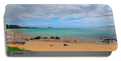 Portable Battery Charger featuring the photograph Beaches Of Hawaii by Michael Rucker