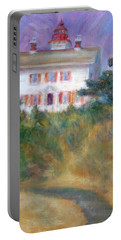 Beacon On The Hill - Lighthouse Painting Portable Battery Charger