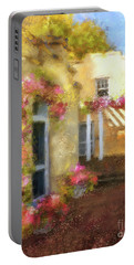 Portable Battery Charger featuring the digital art Beallair In Bloom by Lois Bryan