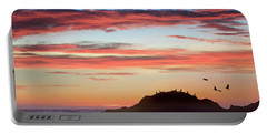Bean Hollow Beach Portable Battery Charger by Tim Fitzharris