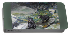 Bear Creek Portable Battery Charger by Jeanette Jarmon