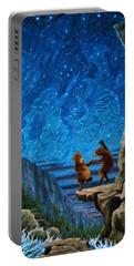 Bear Dance Portable Battery Charger