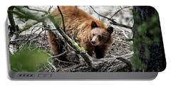 Bear In Trees Portable Battery Charger