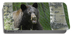 Bear In Yard Portable Battery Charger