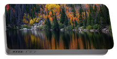Bear Lake Autumn Reflections Portable Battery Charger
