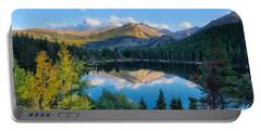 Bear Lake Reflection Portable Battery Charger