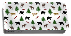 Bear Moose Pattern Portable Battery Charger