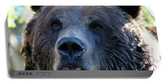 Bear On Grouse Portable Battery Charger