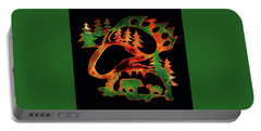 Emerald Bear Paw  Portable Battery Charger