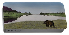 Bear Reflecting Portable Battery Charger