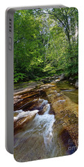 Portable Battery Charger featuring the photograph Bear River, Newry, Maine #10045 by John Bald