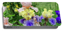 Bearded Iris Edith Wolford  Portable Battery Charger