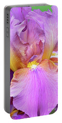 Bearded Iris-miss California Portable Battery Charger