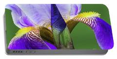 Bearded Iris-prospero Portable Battery Charger