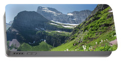 Beargrass - Grinnell Glacier Trail - Glacier National Park Portable Battery Charger