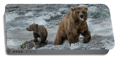 Bears Being Watchful  Portable Battery Charger