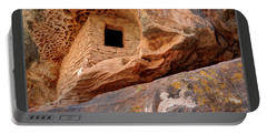 Bears Ears National Monument - Anasazi Ruin Portable Battery Charger by Gary Whitton
