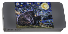 Beary Starry Nights Too Portable Battery Charger