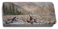 Beas River Manali Portable Battery Charger