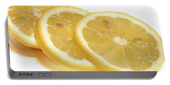 Beat The Heat With Refreshing Fruit Portable Battery Charger by Nick Mares