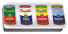 Beatle Soup Cans Portable Battery Charger