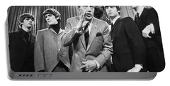 Beatles And Ed Sullivan Portable Battery Charger