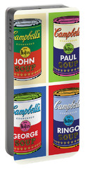 Beatles Soup Portable Battery Charger
