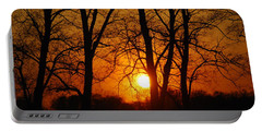 Beauatiful Red Sunset Portable Battery Charger