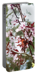 Beautiful Almond Blossoms Portable Battery Charger