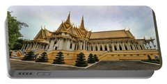 Beautiful Architecture Royal Palace  Portable Battery Charger by Chuck Kuhn
