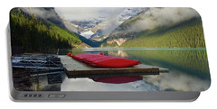 Portable Battery Charger featuring the photograph Beautiful Banff by Jacqueline Faust