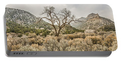 Beautiful Bare Tree Portable Battery Charger