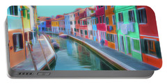 Beautiful Burano Venice Italy Portable Battery Charger