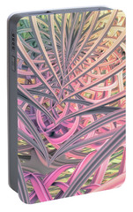 Portable Battery Charger featuring the digital art Beautiful Cage by Matt Lindley