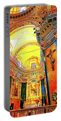 Beautiful Church In Nizza Portable Battery Charger