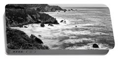 Beautiful Coastal View Of Big Sur In California. Portable Battery Charger