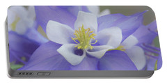 Beautiful Columbines Portable Battery Charger by Ernie Echols